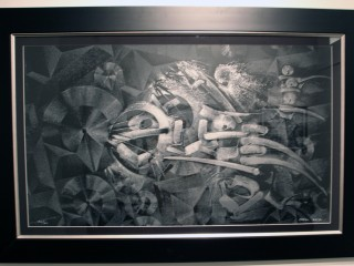 Ese Serigraph 2012 by Chaz