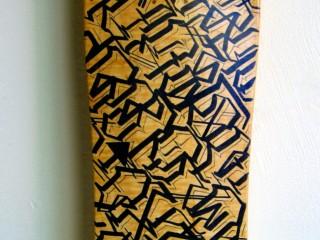 Big Sleeps – Hand Painted Skate Deck – 3
