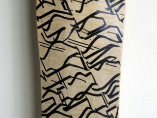 Big Sleeps – Hand Painted Skate Deck – 4