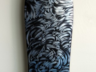 DEFER – Hand Painted Skate Deck – 3