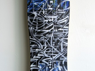DEFER – Hand Painted Skate Deck – 2