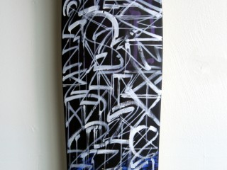 DEFER – Hand Painted Skate Deck – 1