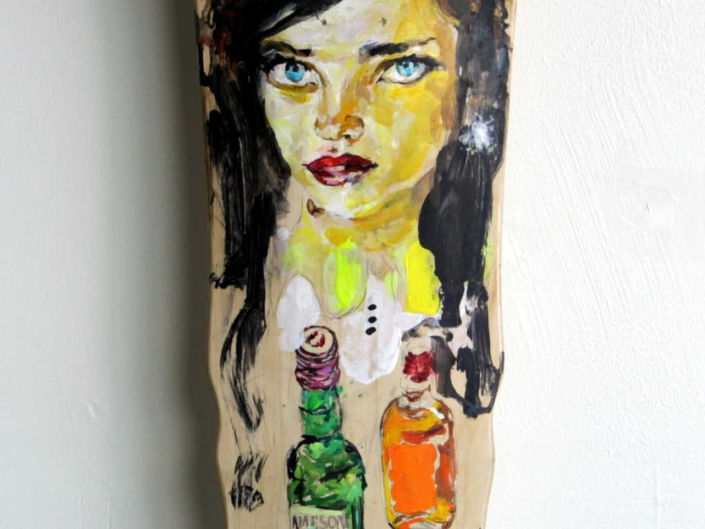 EVOL – Hand Painted Skate Deck – 13
