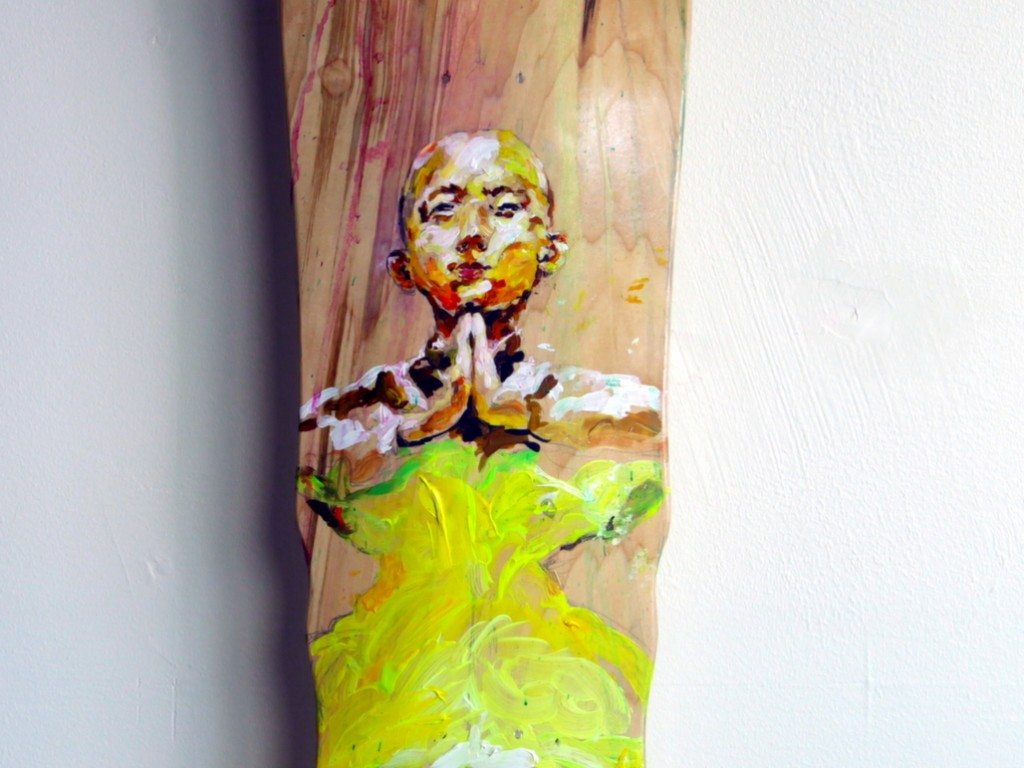 EVOL – Hand Painted Skate Deck – 14