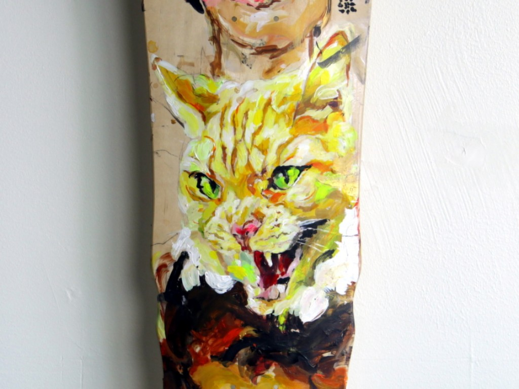EVOL – Hand Painted Skate Deck – 11
