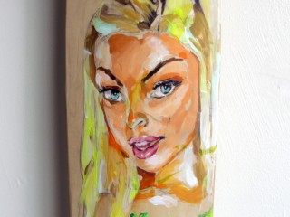 EVOL – Hand Painted Skate Deck – 8