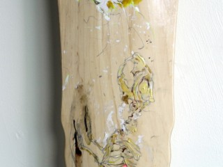 EVOL – Hand Painted Skate Deck – 4