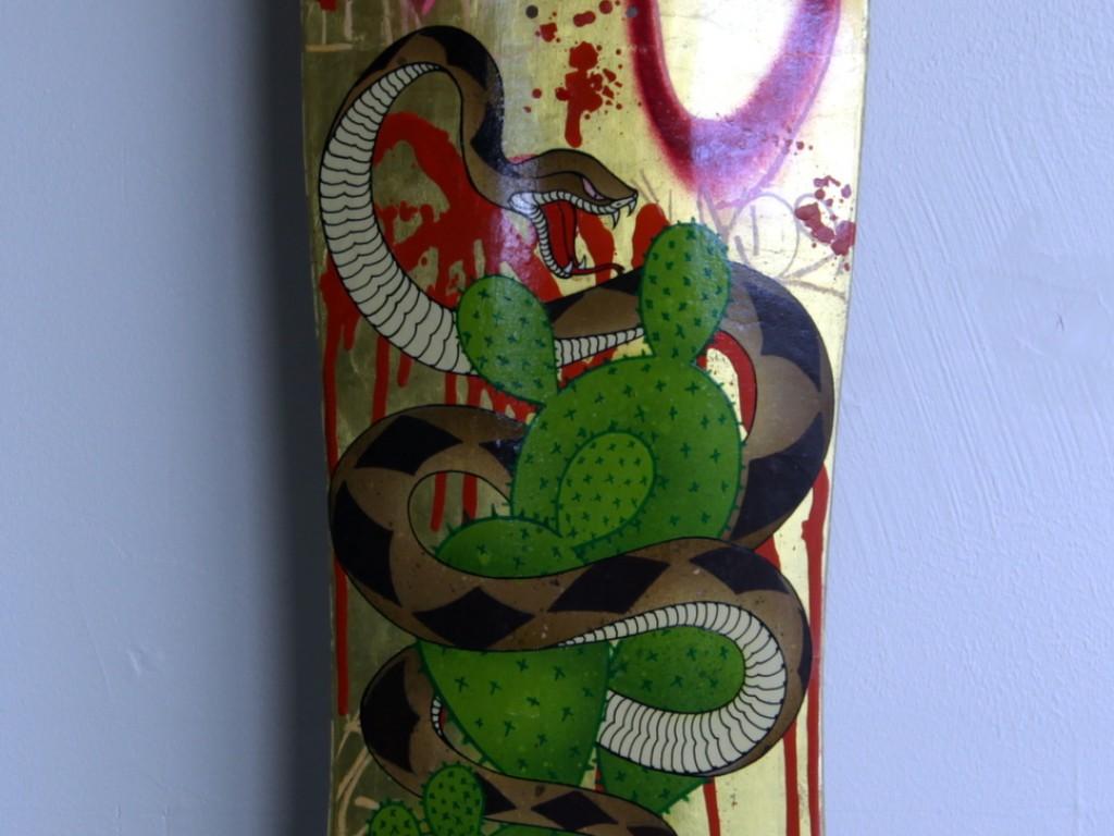 Gajin Fujita – Hand Painted Skate Deck