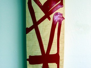 RETNA – Hand Painted Skate Deck – 11