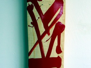 RETNA – Hand Painted Skate Deck – 9