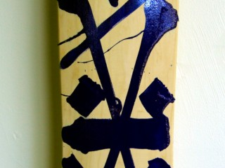 RETNA – Hand Painted Skate Deck – 8