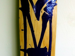 RETNA – Hand Painted Skate Deck – 5