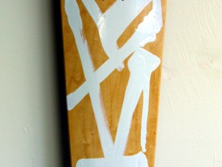 RETNA – Hand Painted Skate Deck – 3