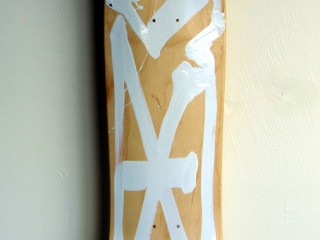 RETNA – Hand Painted Skate Deck – 1