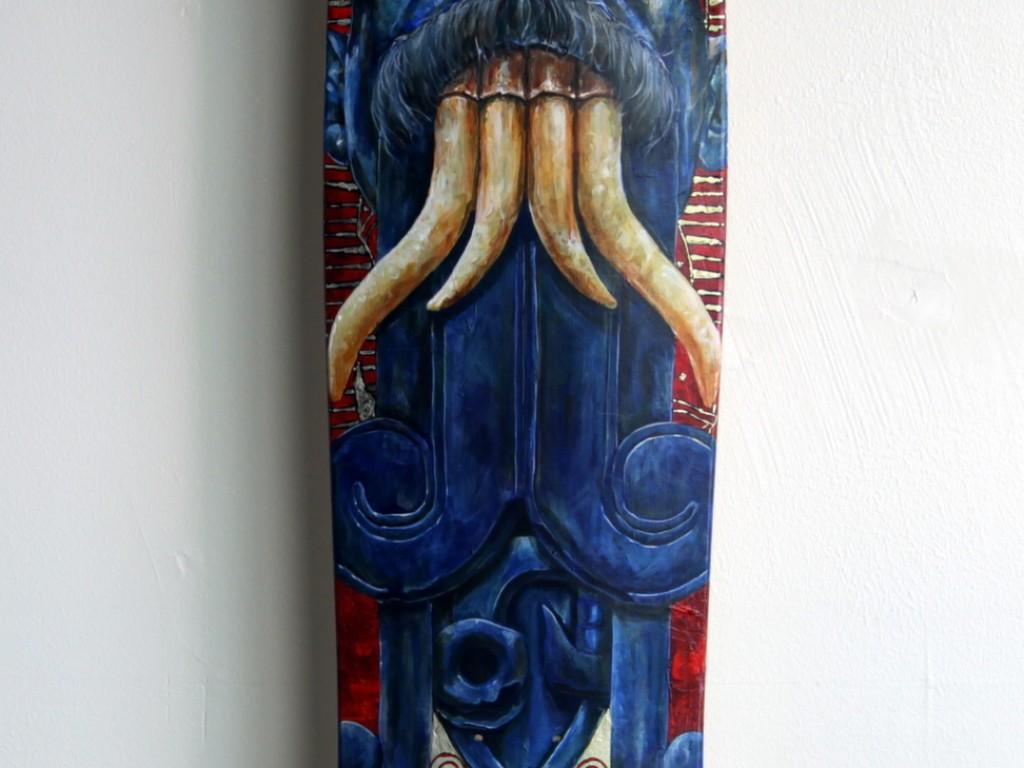 Ricardo Estrada – Hand Painted Skate Deck – 10