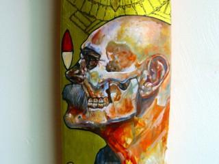 Ricardo Estrada – Hand Painted Skate Deck – 9