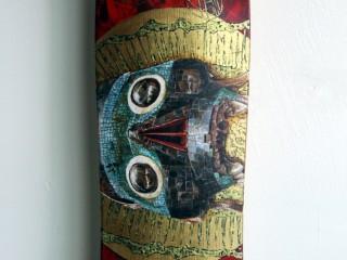 Ricardo Estrada – Hand Painted Skate Deck – 8