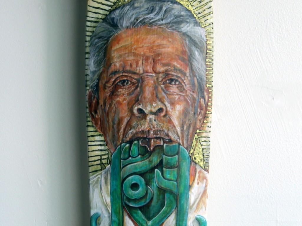 Ricardo Estrada – Hand Painted Skate Deck – 7