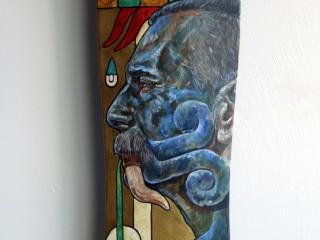 Ricardo Estrada – Hand Painted Skate Deck – 5