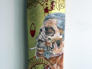 Ricardo Estrada – Hand Painted Skate Deck – 3