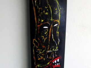 Satter Ugly – Hand Painted Skate Deck – 5